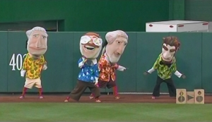 Gangnam Style racing presidents Washington Nationals