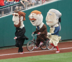 Nationals presidents race Teddy Roosevelt Tricycle by Cheryl Nichols