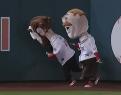 Washington Nationals Presidents Race Teddy Roosevelt slams Abe Lincoln