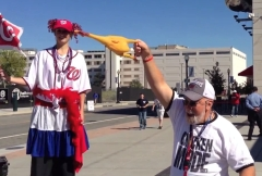 Chicken Sacrifice at Nationals Park - Chicken Mode