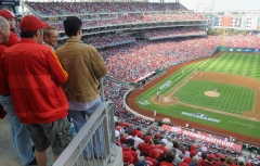 Nationals Park Standing Room Only