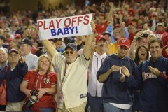 Nationals Playoffs Baby - Photo by Kim Wright