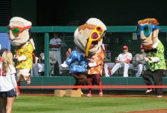 Nationals racing presidents Gangnam Style