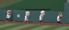 Nationals Presidents race Teddy Wins October 3 2012 - Starting gate