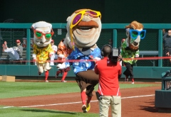 Racing presidents Gangnam Style - Teddy Roosevelt Washington Nationals
