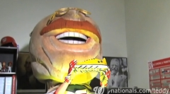 Teddy Roosevelt scoreboard video: Teddy gets his Golden Shoes