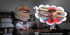 Teddy Roosevelt Pep Talk Video from Nationals Park