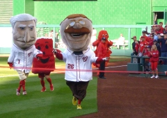Teddy Roosevelt Wins presidents race Kool Aid Man