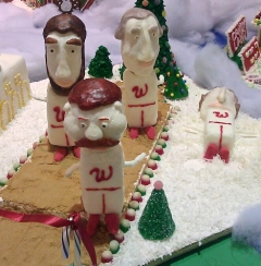 Gingerbread Presidents Race at NIH
