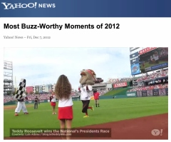 Yahoo Buzz-Worthy Moments of 2012 - Teddy Roosevelt Wins