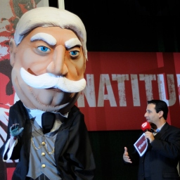 "Taft ""retiring"" to Palm Beach as well, leaving original Rushmore racing presidents at Nationals Park"