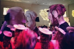 Racing Presidents at the Black Tie and Boots Inaugural Ball