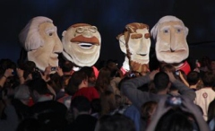 Racing Presidents at the Kids Inaugural Ball and concert