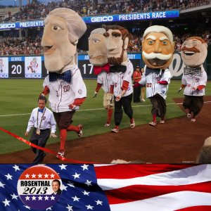 Ken Rosenthal Racing Presidents Twitter Avatar