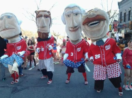 Racing Presidents Cupids Undie Run