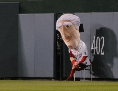 Thomas Jefferson Sits for Nationals Presidents Race