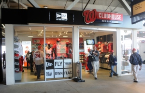 Nationals Park Clubhouse Team Store