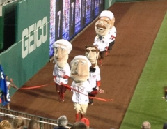 Nationals Presidents race backwards