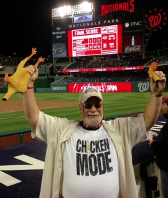 Nationals rubber chicken man sacrifice breaks bad luck