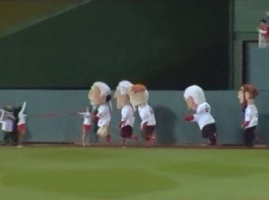 Presidents race runs backwards