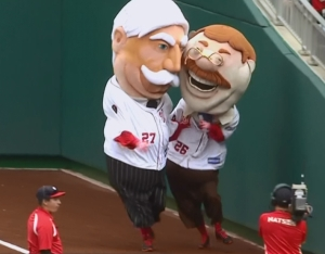 Presidents Race William Howard Taft Tackles Teddy Roosevelt