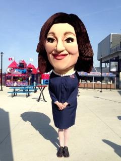 Selina Meyer Washington Nationals Park Presidents Race