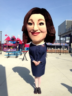 Selina Meyer Washington Nationals Park Presidents Race
