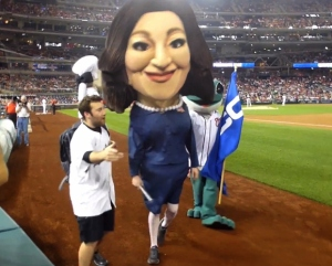 Selina Meyer Washington Nationals Presidents Race