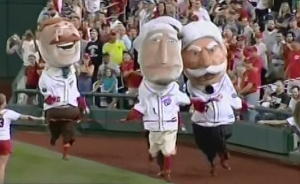 Washington Nationals Racing Presidents George Wins