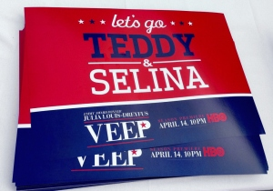 Teddy and Selina Meyer VEEP HBO Nationals Presidents Race