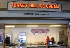 Turkey Hill Ice Cream and Papa Johns Pizza at Nationals Park