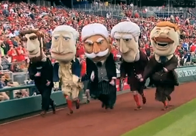 67a6890cad5f7 Washington Nationals racing presidents new starting line ...