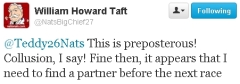 William Howard Taft Twitter