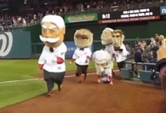 Bill Taft wins 2nd presidents race