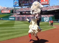 George Washington Nationals Presidents Race
