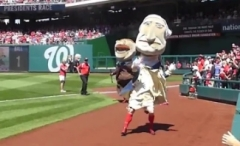 Nationals Presidents Race Teddy Wins George Drops