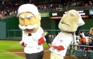 Nationals Racing President George Washington hits Bill Taft