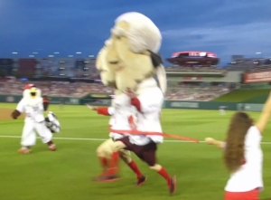 Racing Presidents Photo Finish