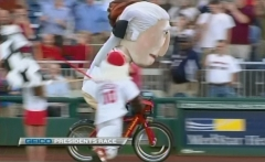 Capital bikeshare presidents race Nationals Park