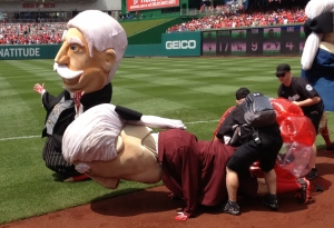 Cicada Washington Nationals Presidents Race