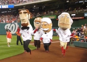 Washington Nationals racing presidents prancersize