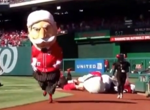 William Howard Taft and the Rally Cicada throw water cooler