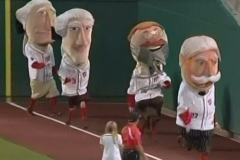 Racing Presidents Shark Week at Nationals Park
