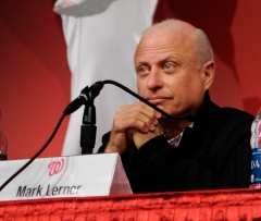 Washington Nationals Mark Lerner at Natsfest