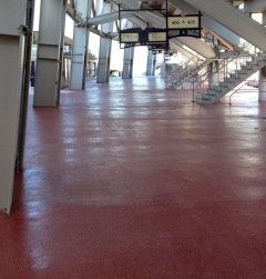 Nationals Park Concourse Red Floors