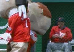 George Slams Teddy Cardinals reaction