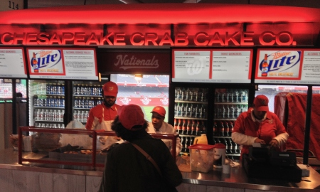 Chesapeake Crab Cake Co. - Washington Nationals Park - Stadium Food