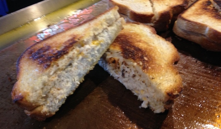 Crab Grilled Cheese - Chesapeake Crab Cake Co. - Washington Nationals Park - Stadium Food Options