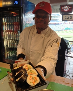 Nationals Park Sushi - Washington Nationals Stadium Food