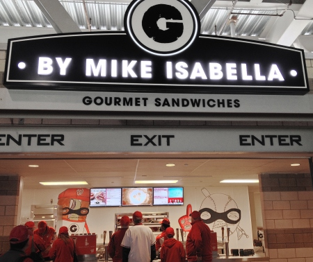 G Sandwiches by Mike Isabella at Nationals Park - Washington Nationals Stadium Food
